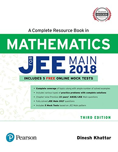 A complete resource book in mathematics includes 5 free online mock tests