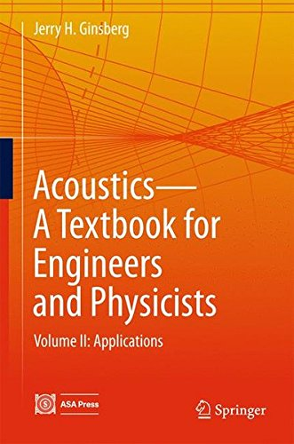 Acoustics - a textbook for engineers and physicists.
